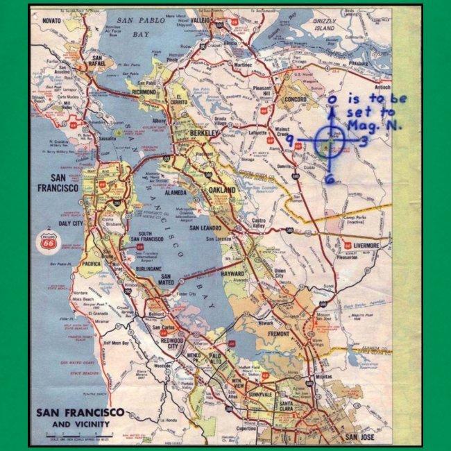Phillips 66 Zodiac Killer Map June 26