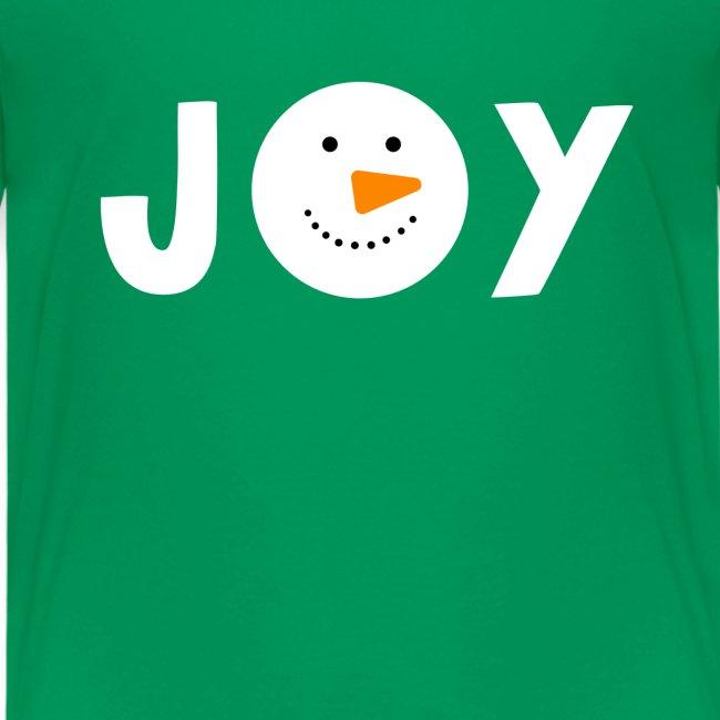 JOY - Snowman Christmas Design!