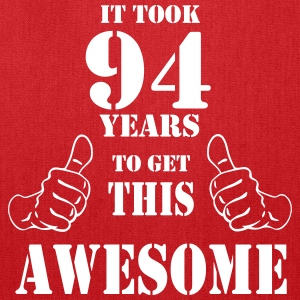 94th Birthday Get Awesome T Shirt Made in 1923 - Tote Bag