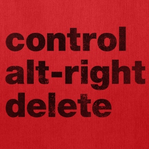 Control Alt-Right Delete Black - Tote Bag