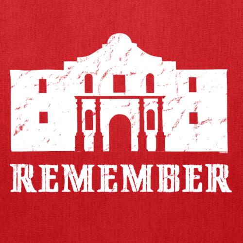 Remember the Alamo - Tote Bag