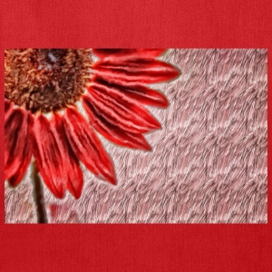 Red Sunflower - Tote Bag