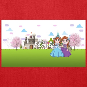 Heart Family Princesses! - Tote Bag