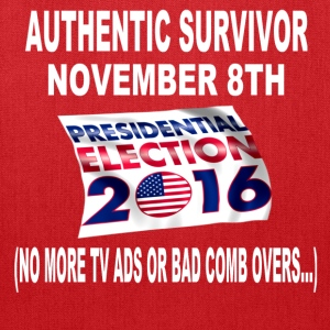 Presidental Election 2016 Survivor Shirt - Tote Bag