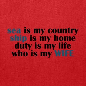 Sea is my country - Tote Bag