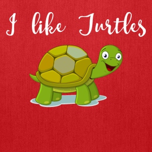 I like Turtles - Tote Bag