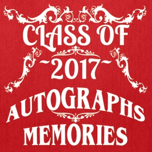 Class of 2017 Autograph and Memories Keepsake Tee - Tote Bag