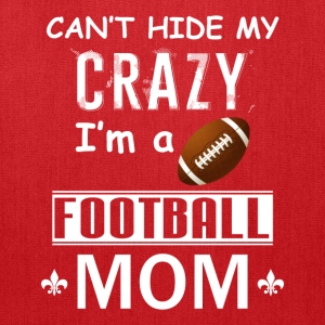 Crazy Football Mom - Tote Bag
