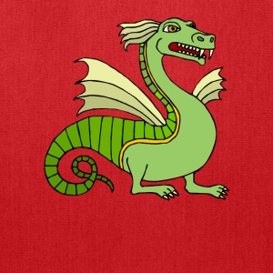 Green Chinese Dragon - Tote Bag