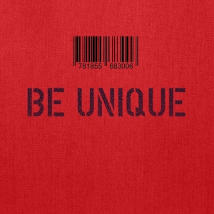 Be Unique - cool design - Tote Bag