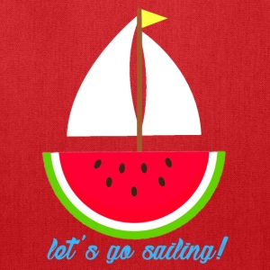 Watermelon Boat - Tote Bag