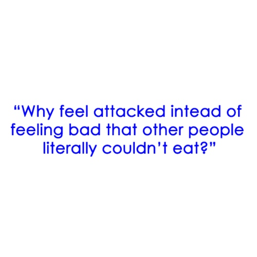 Why feel attacked... - Tote Bag