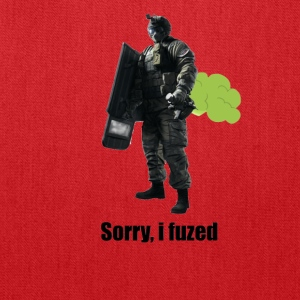 sorry i fuzed - Tote Bag