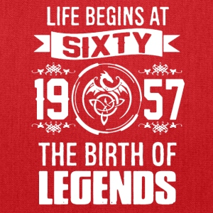 THE BIRTH OF LEGENDS 60 TEE SHIRT - Tote Bag