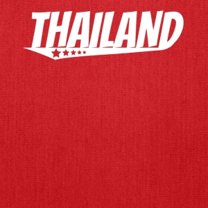 Thailand Retro Comic Book Style Logo Thai - Tote Bag