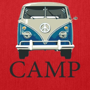 Camp Peace Van - Tote Bag