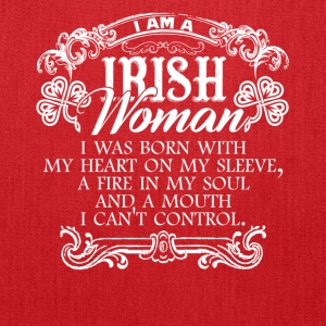 Irish Woman Tshirt - Tote Bag