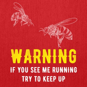 Beekeeper If you see me running try to keep up - Tote Bag