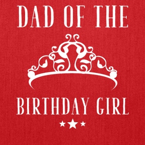 Dad of the birthday girl - Tote Bag
