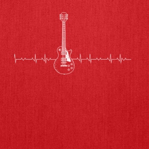 Guitar Heartbeat - Tote Bag
