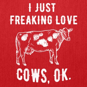 I just freaking love cows - Tote Bag