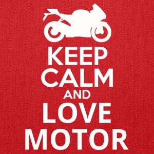 Keep Calm And Love Motor - Tote Bag