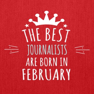 Best JOURNALISTS are born in february - Tote Bag