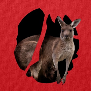 The kangaroo hops - Tote Bag