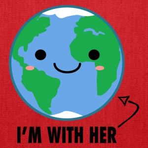 I'm with her Mother Earth Day - Tote Bag