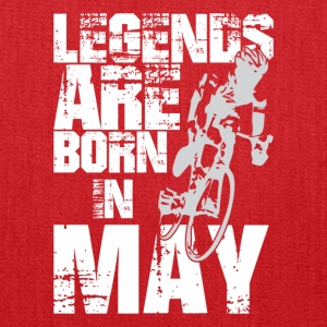Legends Are Born In May Cycling - Tote Bag