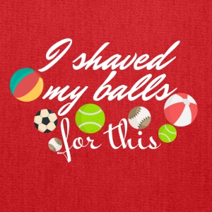 I shaved my balls - Tote Bag