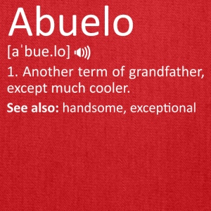 Abuelo Definition Funny Gift Spanish Grandfather - Tote Bag