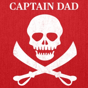 Funny Captain Dad Pirate Lover Fun Halloween - Tote Bag