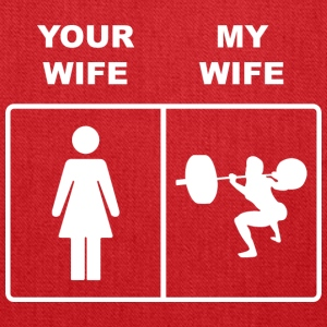 Your Wife My Wife Squats Lifting - Tote Bag