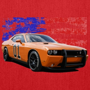 Dodge Challenger RT America Muscle Car Shirt - Tote Bag