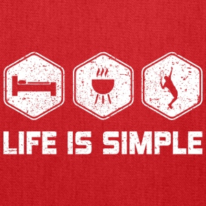 LIFE IS SIMPLE - TENNIS - Tote Bag