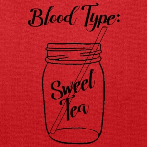 Blood Type: Sweet Tea - Tote Bag