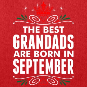 The Best Grandads Are Born In September - Tote Bag
