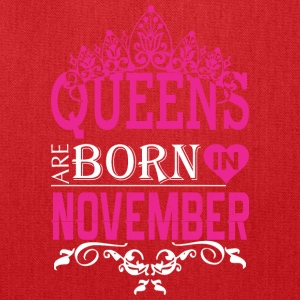 Queens Are Born In November - Tote Bag