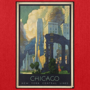 Chicago New York Central lines - Tote Bag
