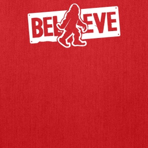 Believe Big Foot Sasquatch Bigfoot - Tote Bag