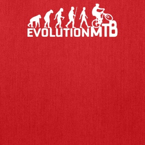 Evolution Of A Mountain Biker - Tote Bag