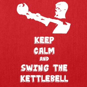 Keep calm and swing the Kettlebell (Workout Ed.) - Tote Bag