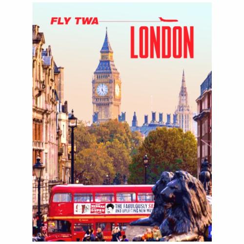 Vintage London Travel Poster - Tote Bag