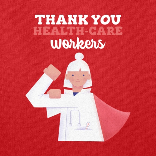 Thank you health care worker - Tote Bag