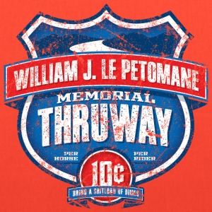 William J LePetomane Memorial Thruway - Tote Bag