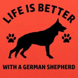 germnshepherd - Tote Bag