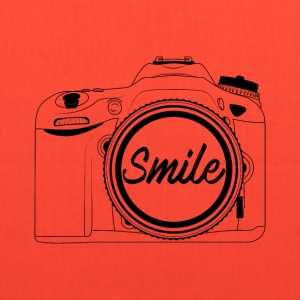 Smile to the camera - Tote Bag