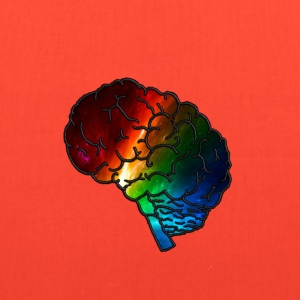 Neurodiversity Rainbow Brain - Tote Bag