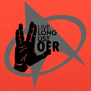 Live Long Use OER - Tote Bag